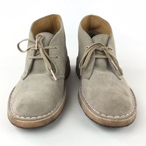 Clarks Originals Light Taupe Tan Suede Chukka Boot